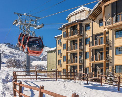 Exterior Side View with Ski Lift