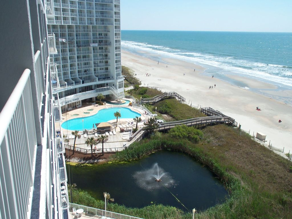 Pool and Beach View